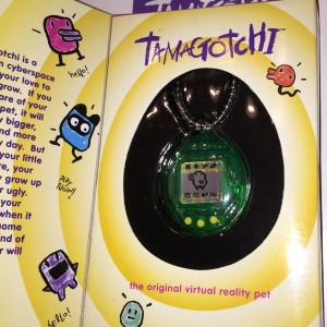 Green Tamagotchi Virtual Pet