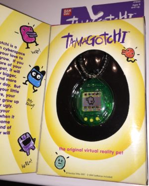 Green Tamagotchi Virtual Pet