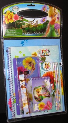TinkerBell Fairy Desk Set Study Kit School Supplies
