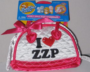 Zhu Zhu Pets Carrier Purse White