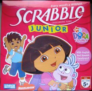 Scrabble Junior Dora in Red Box