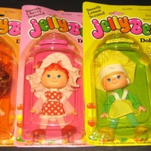 Jelly Bean Dolls in Baby Bottle Packaging