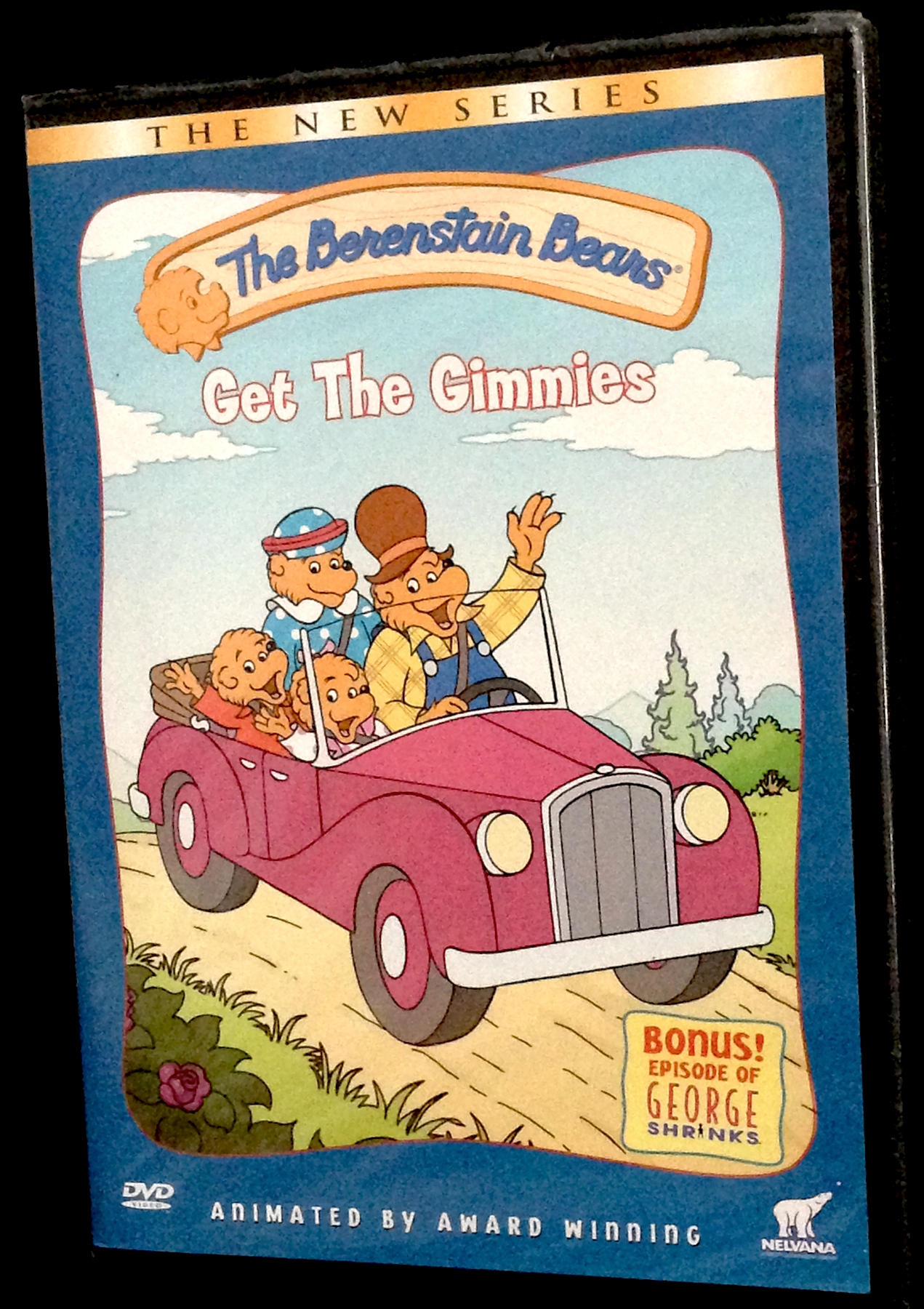 the berenstain bears get the gimmies dvd