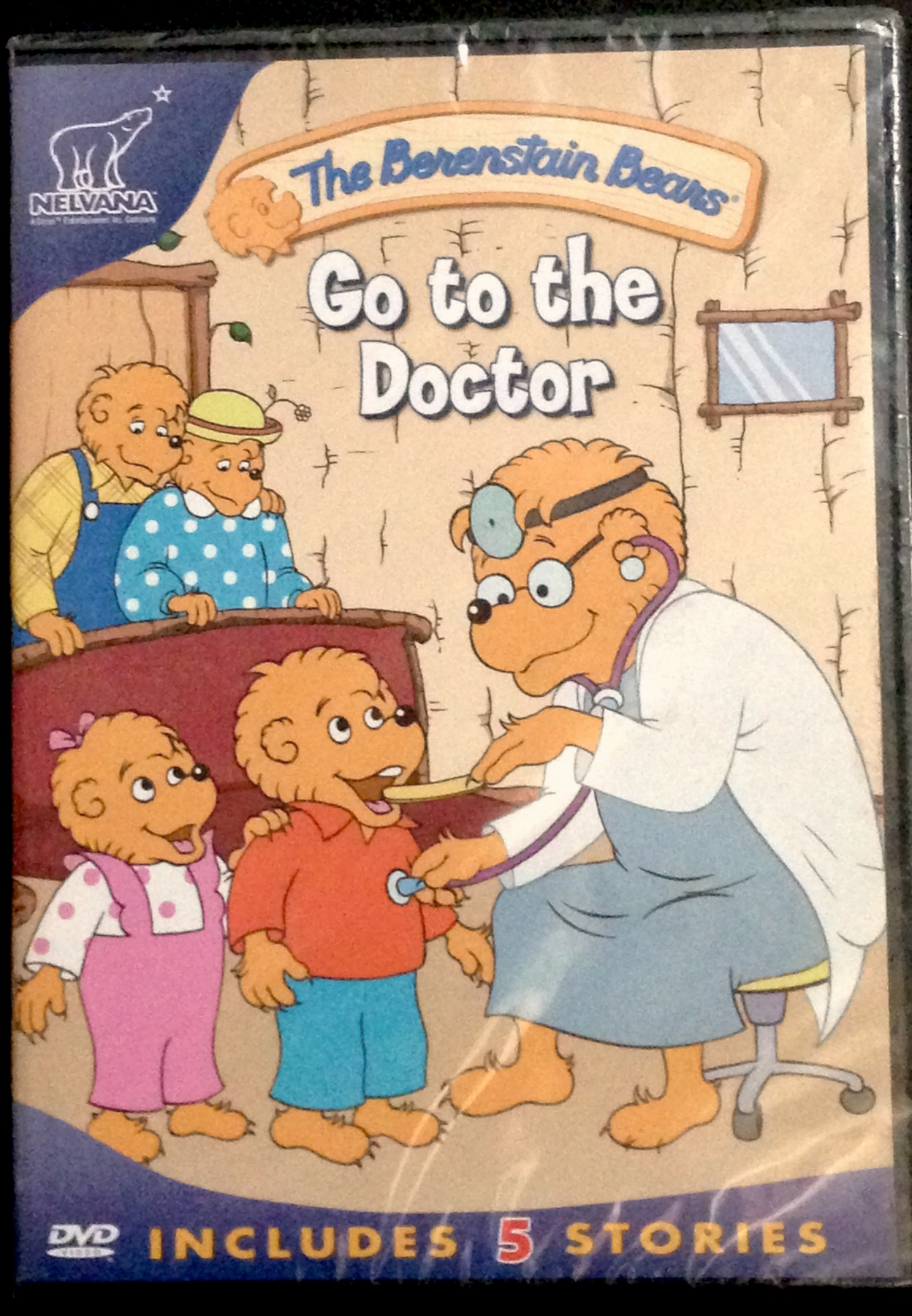 The Berenstain Bears Go To The Doctor Dvd Purpletoyshop Com