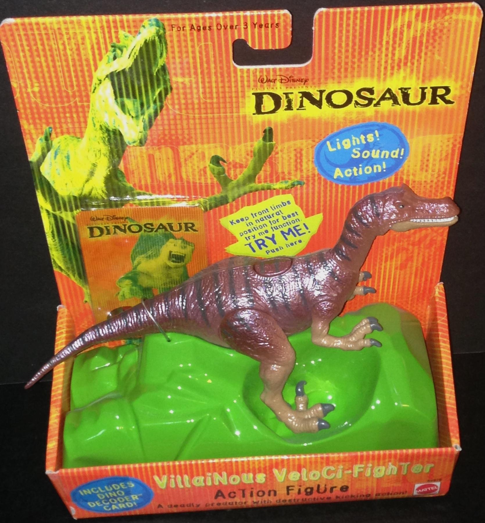 Disney Dinosaur Toys : Dinosaur villainous veloci fighter purpletoyshop