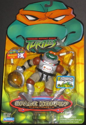 Space Hoppin TMNT Michelangelo