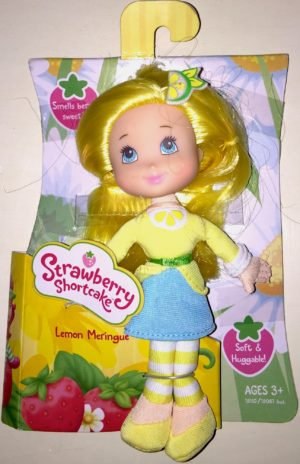 Lemon Meringue Strawberry Shortcake Soft Doll