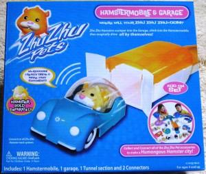 Blue Zhu Zhu Pets Hamster Car