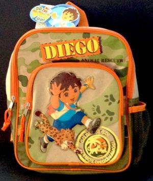 Nick Jr's Go Diego Go Backpack