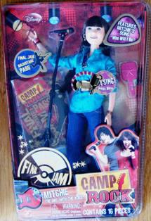 High School Mitchie Camp Rock Final Jam Doll
