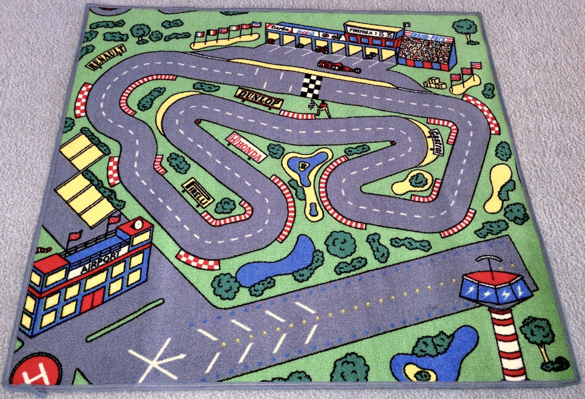 Race Car Floor Rug For Kids Purpletoyshop Com