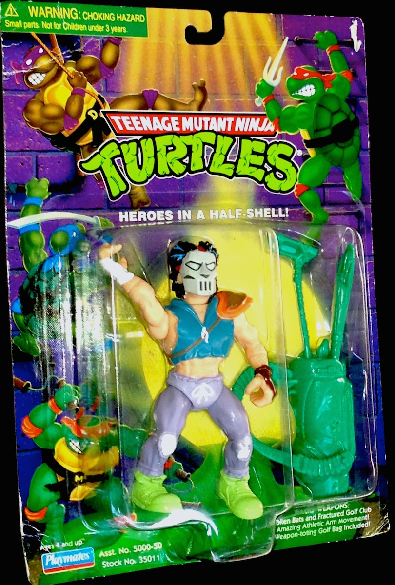 tmnt casey jones ninja turtle action figure