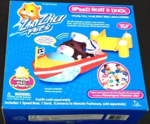 Zhu Zhu Pets Speed Boat