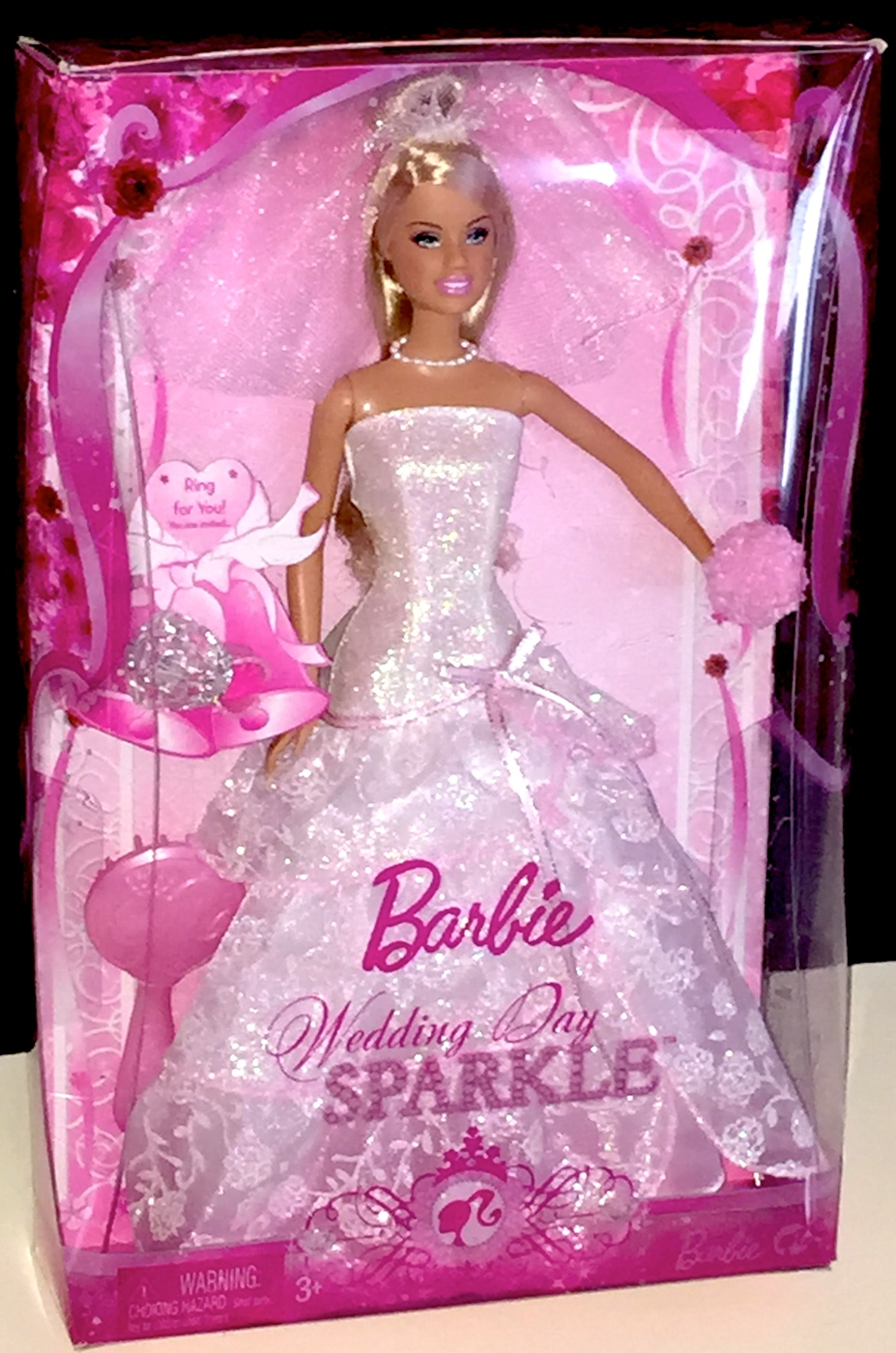 Barbie Doll Wedding Day Sparkle Plus Accessories