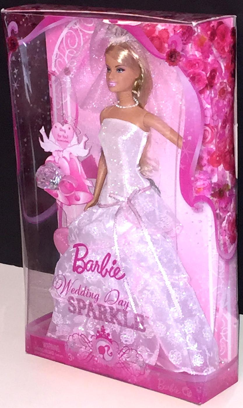 Barbie doll wedding day sparkle plus accessories - Barbie barbie barbie barbie barbie ...