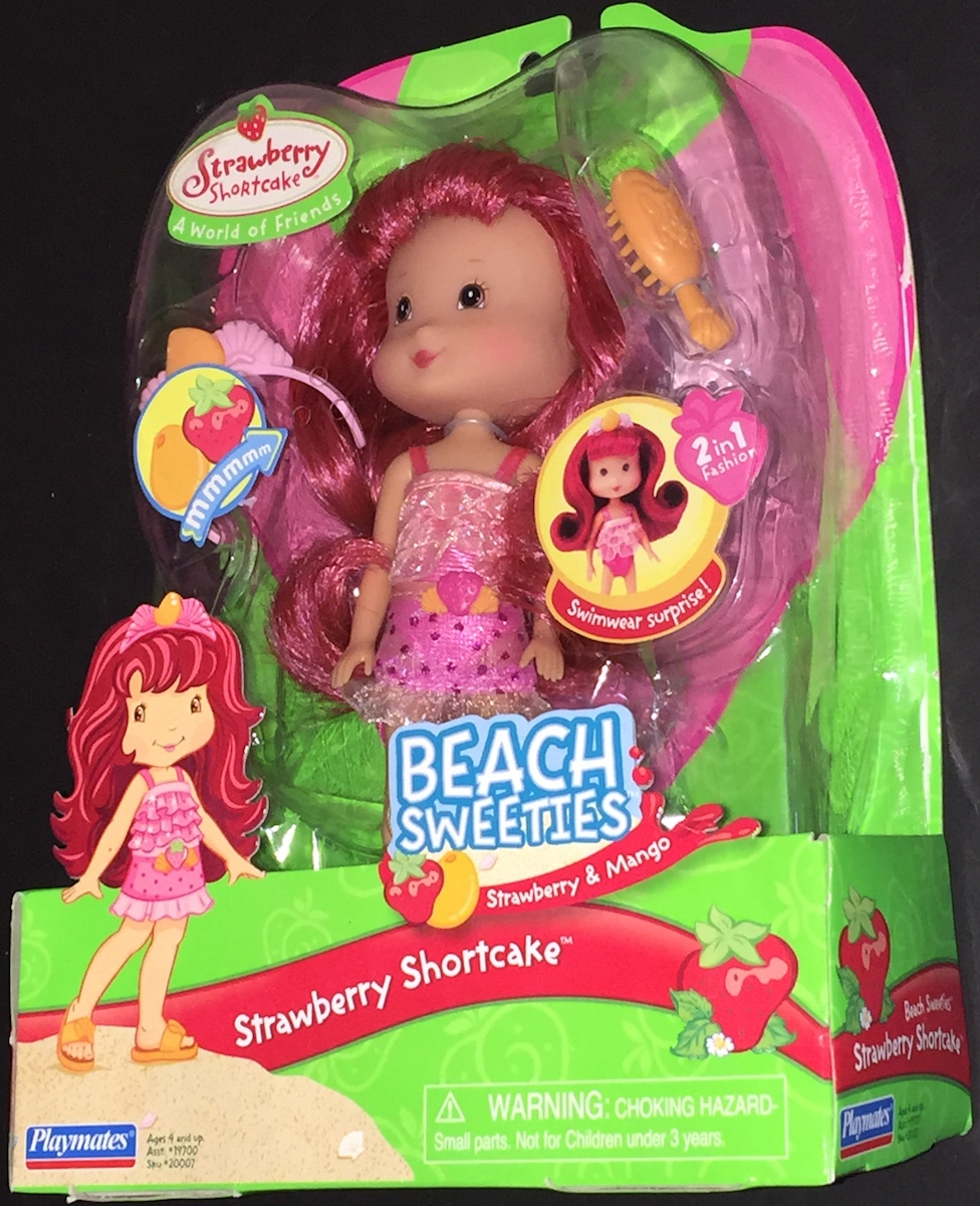 Beach Sweeties Strawberry Shortcake Doll 4 Years And Up