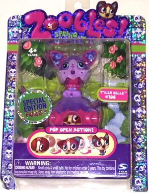 Tyler Belle Zoobles Figure #108