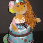 Chocolate Charlie Cutie Cakes Doll Soft Body