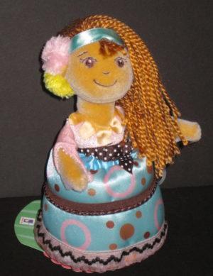 Chocolate Charlie Cutie Cakes Doll Soft Body
