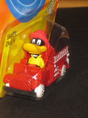 Daffy Duck Hose & Ladder Firetruck