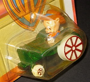 Porky Pig Driving Green Tractor Diecast