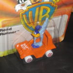 Roadrunner in Orange Beep Beep Car