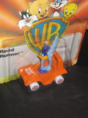 Roadrunner in Orange Beep Beep Car